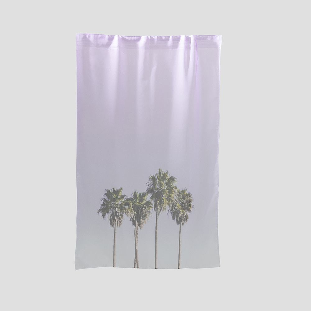 voile net curtains