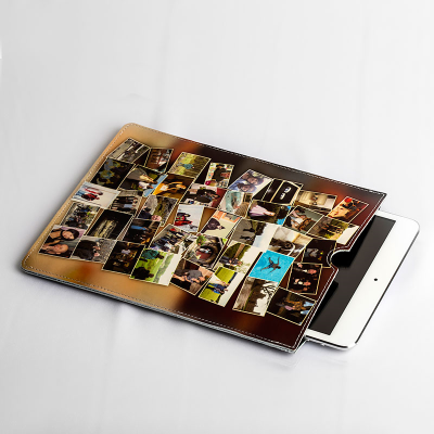 Custom leather iPad mini case