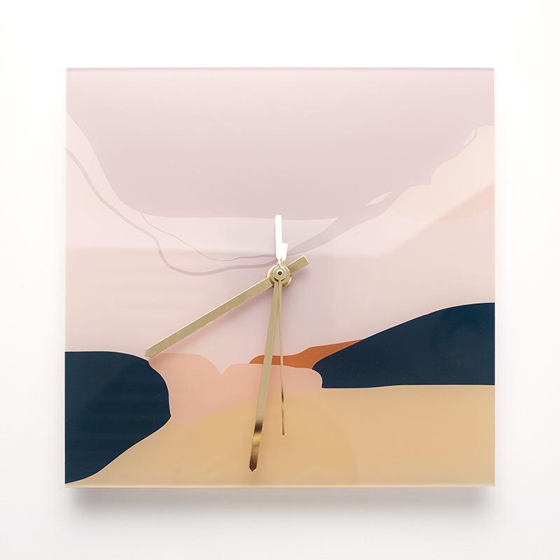 customised square clock