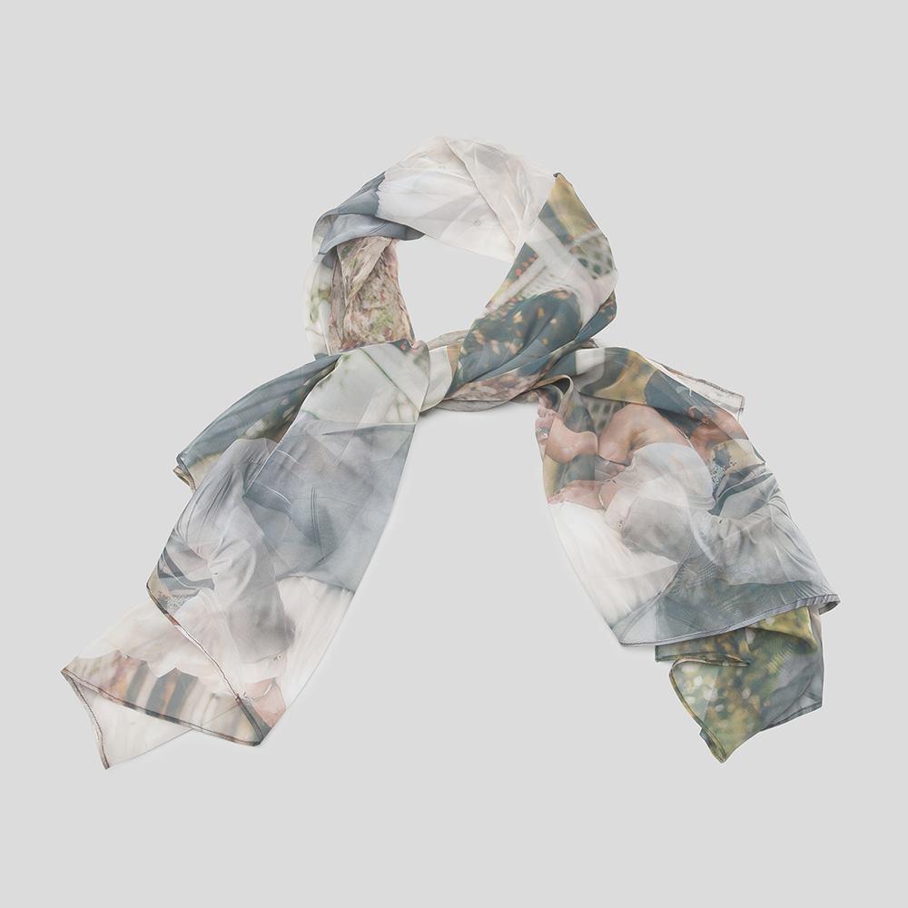 custom mens silk scarf