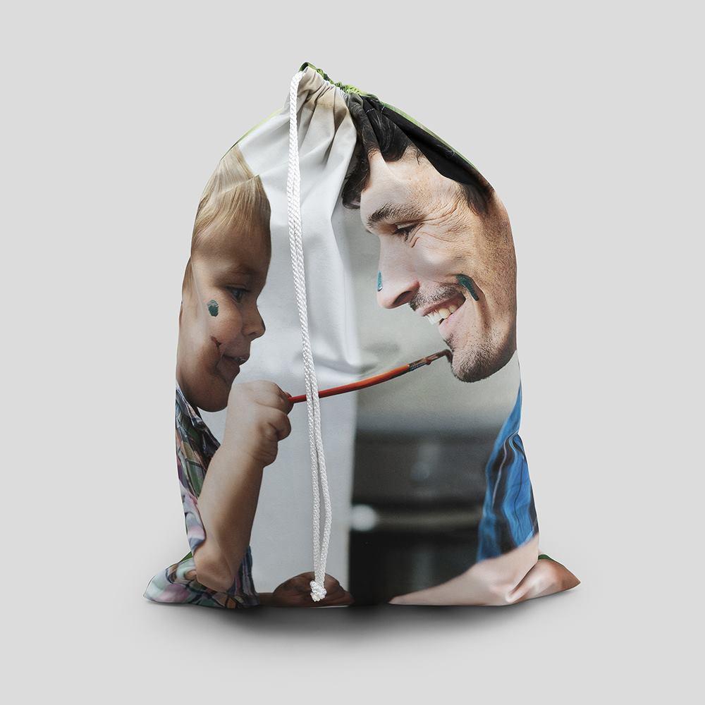 personalised toy sack
