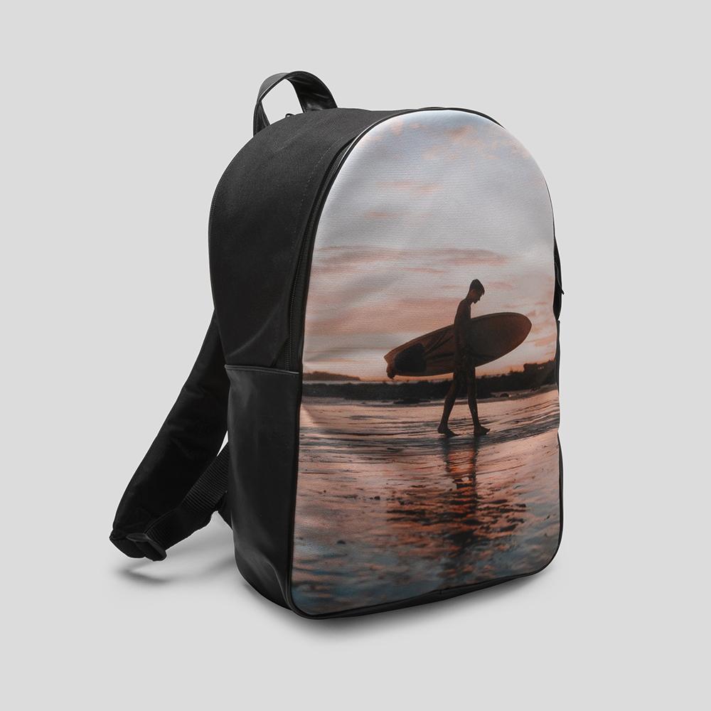 rucksack mit foto