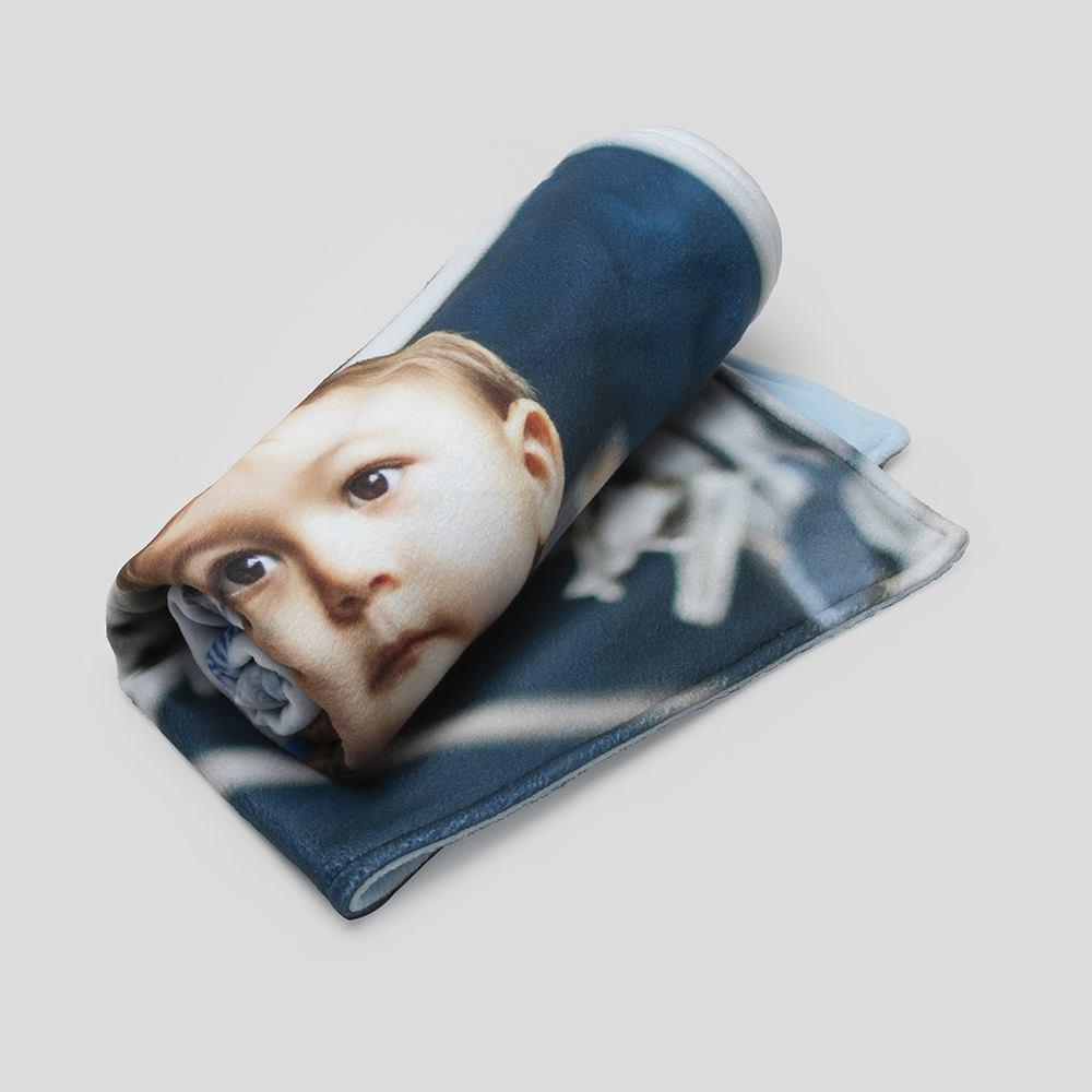 personalised pram blanket