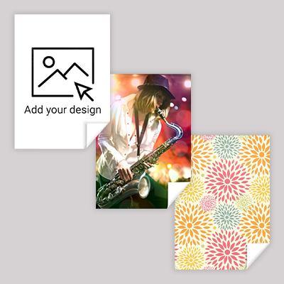Print fabric sample