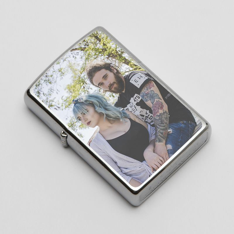 Personalised Lighters Genuine Personalised Zippo Photo Lighters