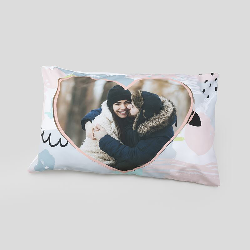 Heart Pillow Case Personalized Heart Shaped Pillow