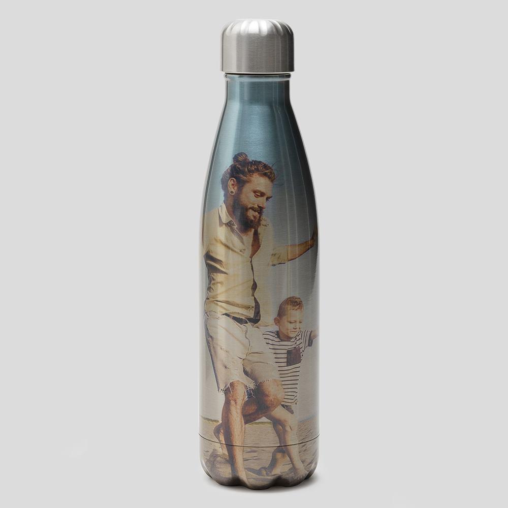botella personalizada reutilizable