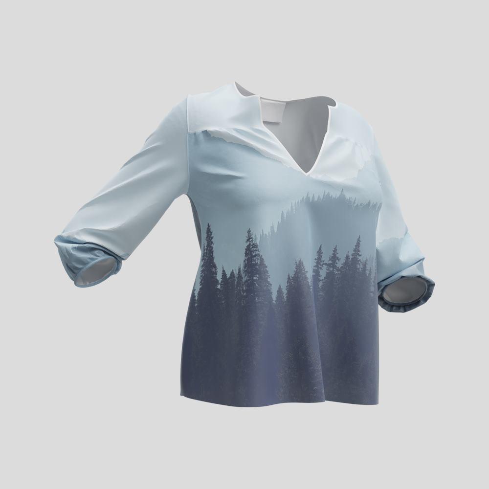 blusa personalizzata