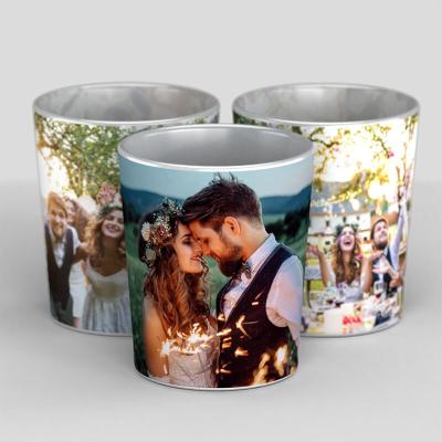 portavelas personalizadas pareja romantica