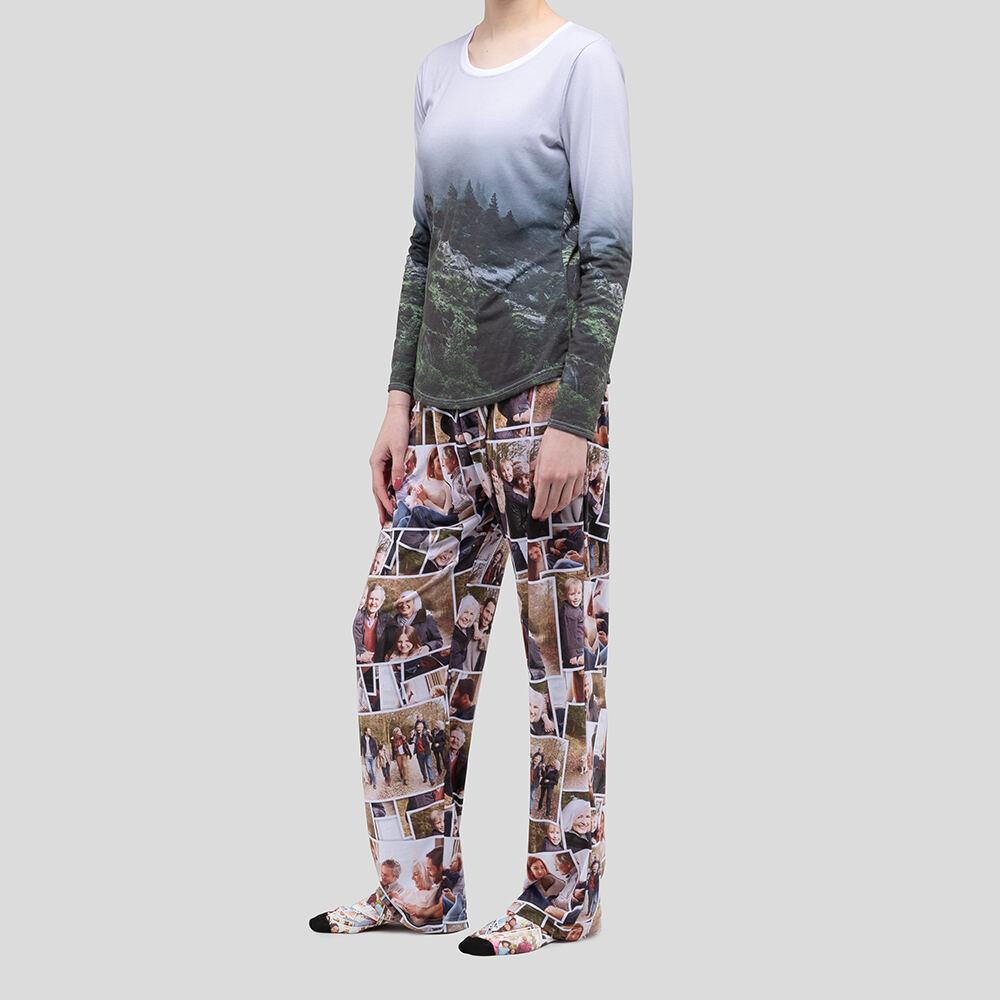 conjunto pijama personalizado mujer