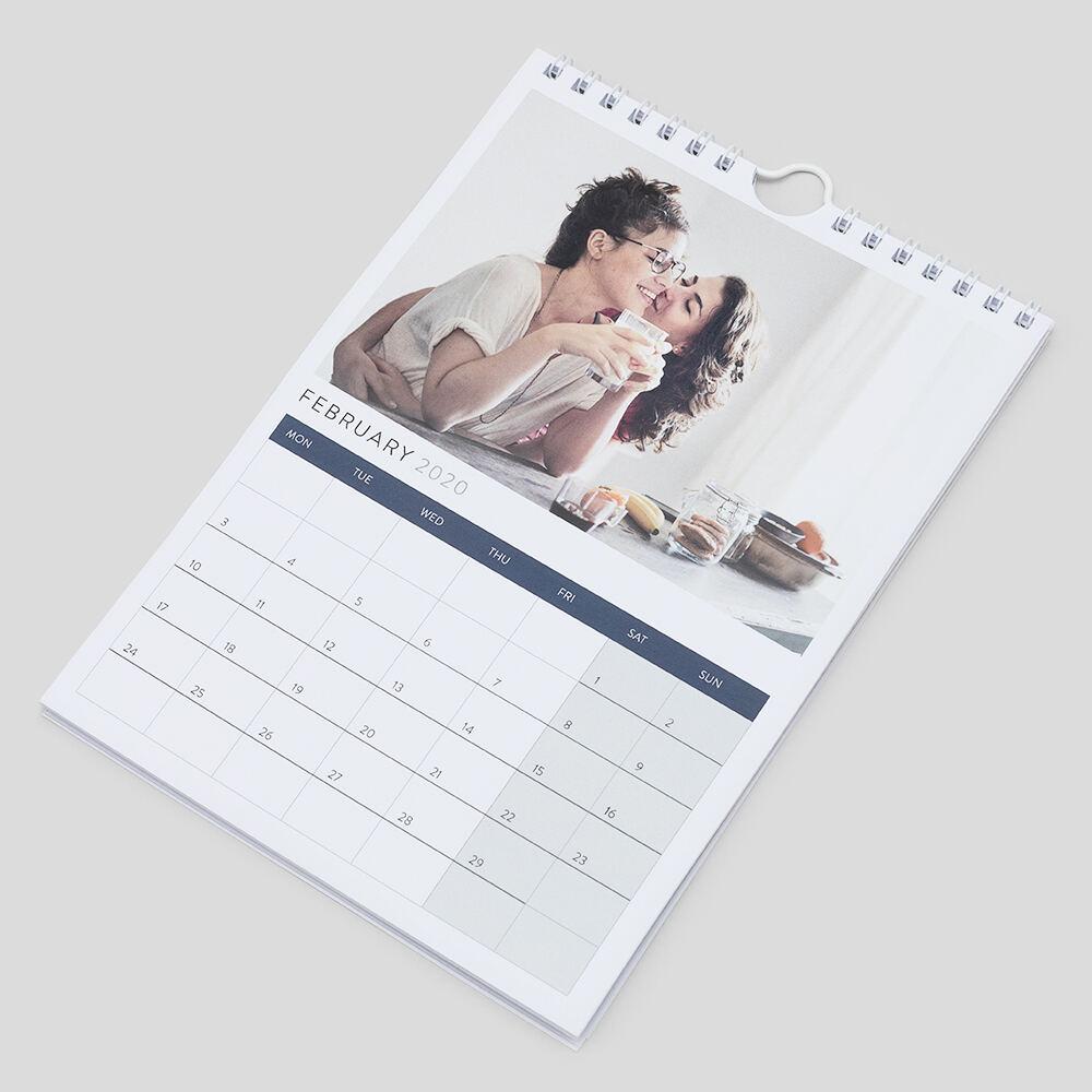 gepersonaliseerde kalender A5