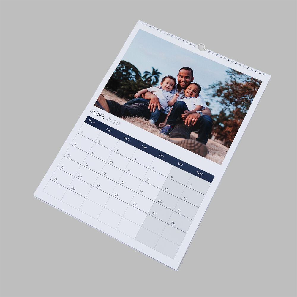 gepersonaliseerde fotokalender