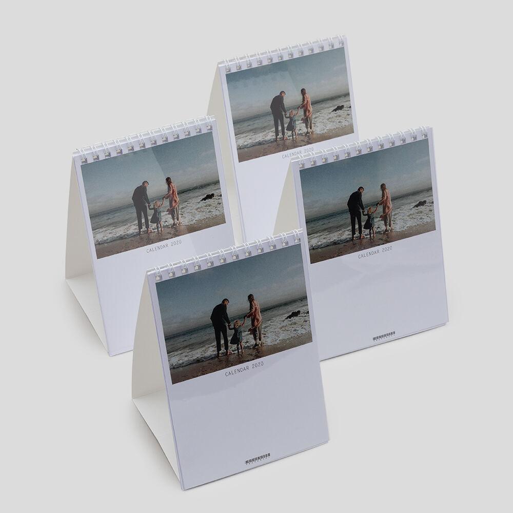 pack 4 calendarios de escritorio