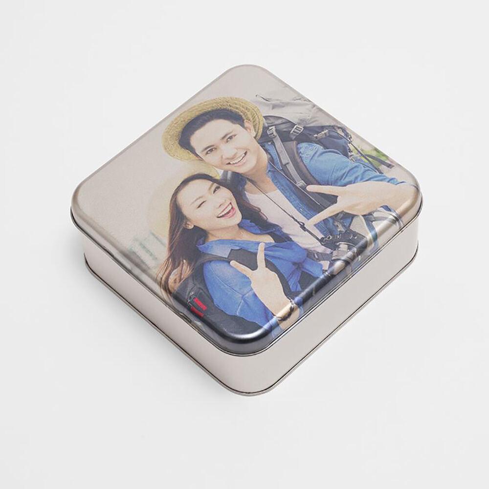 personalised tin gift box