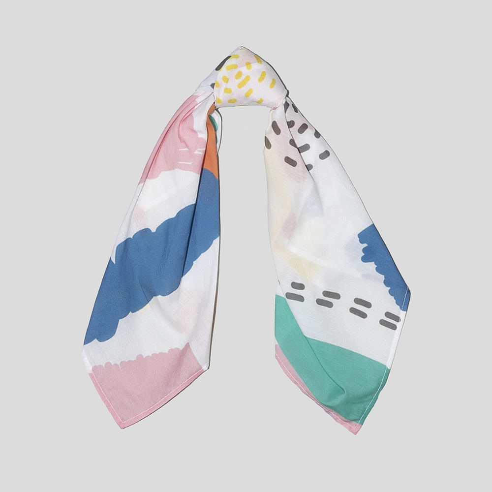 custom printed cotton scarves