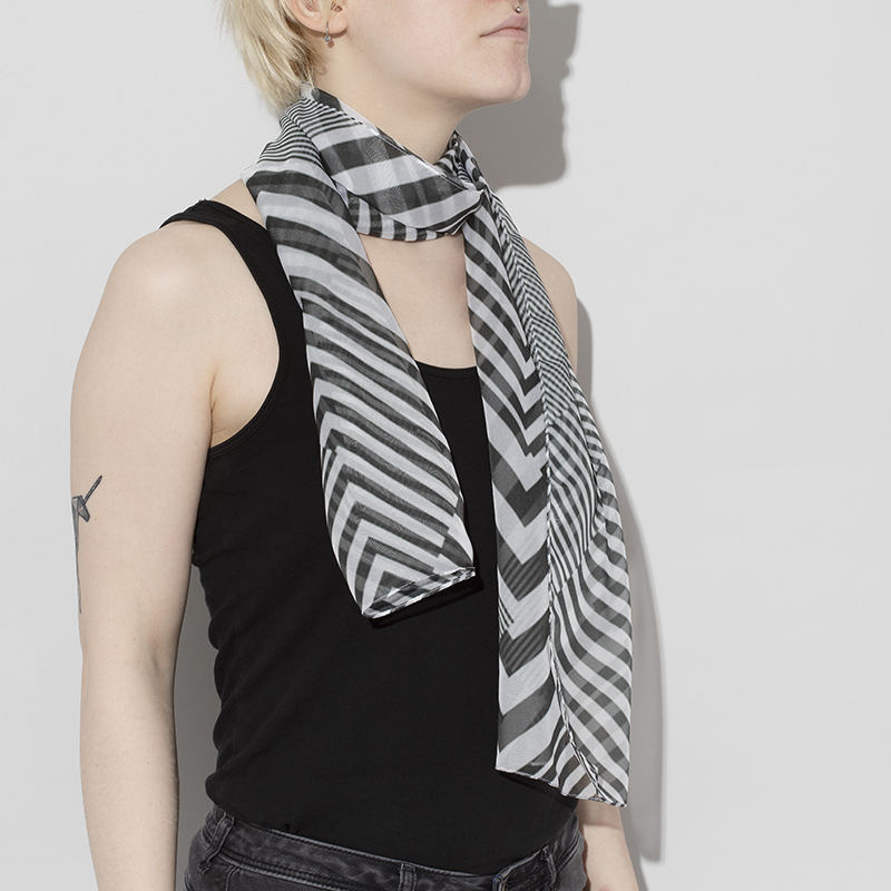 Custom Scarves Personalised Photo Scarf