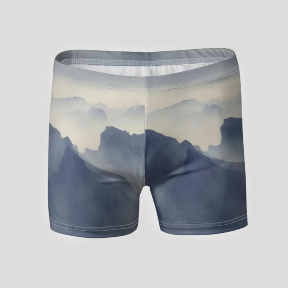 custom fitted swim trunks for men