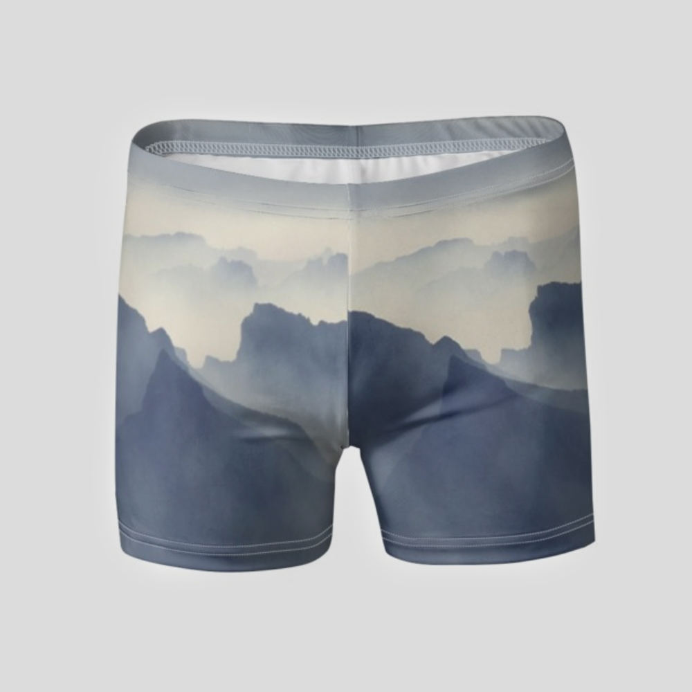 men's personalized swim trunks