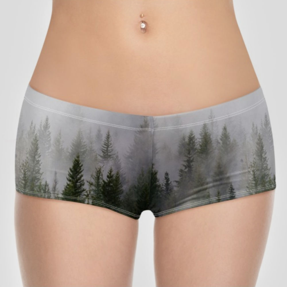 custom booty shorts