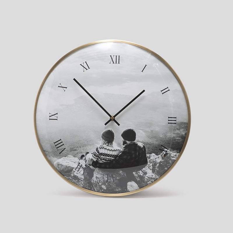 Wedding Clock Gift: Personalized Wedding Clock. Wedding Gift Clock