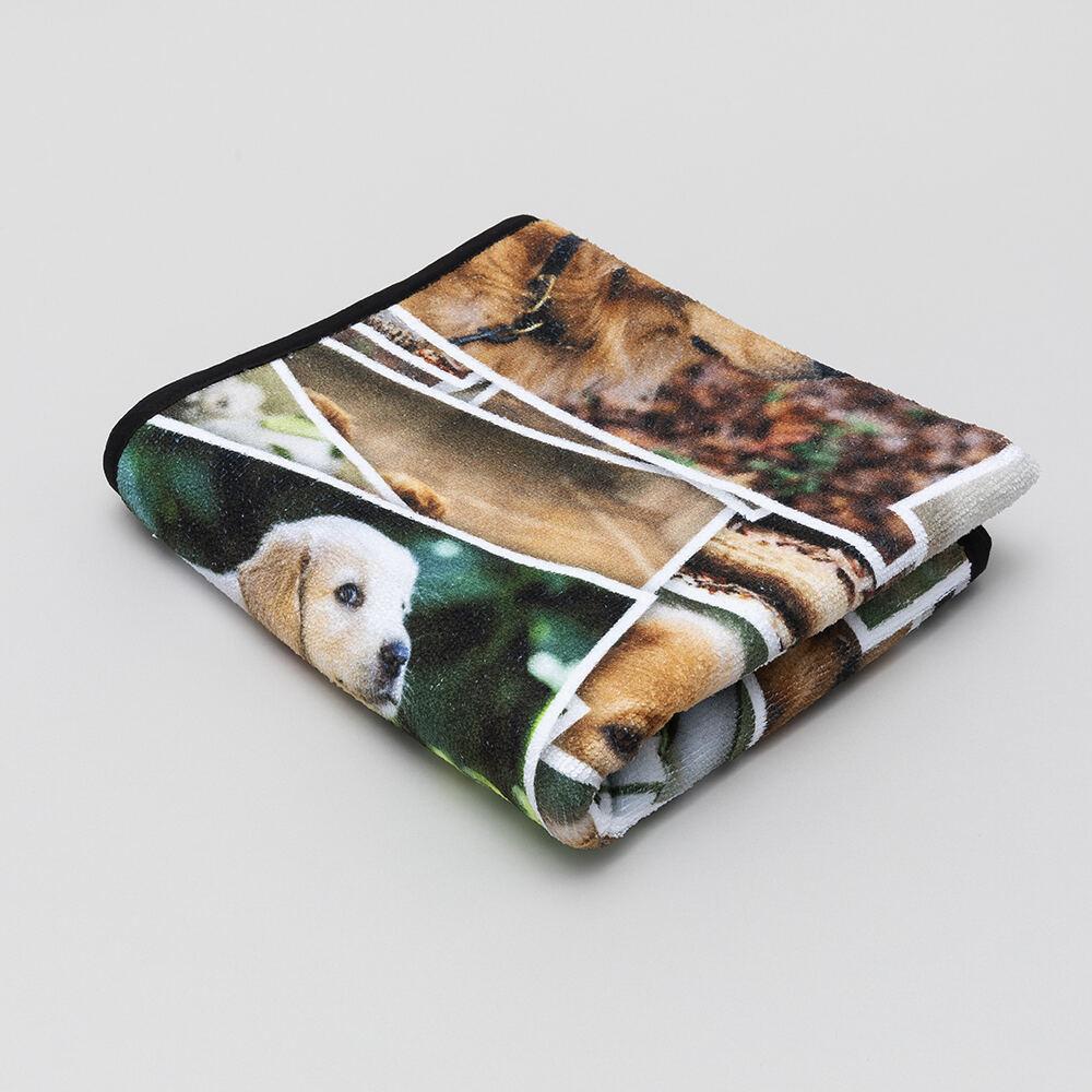 custom pet towel