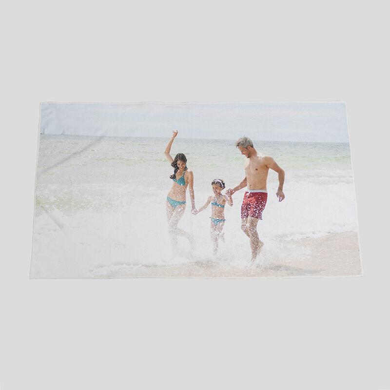 Personalised Beach Towels   Custom Photo Towels   Microfibre