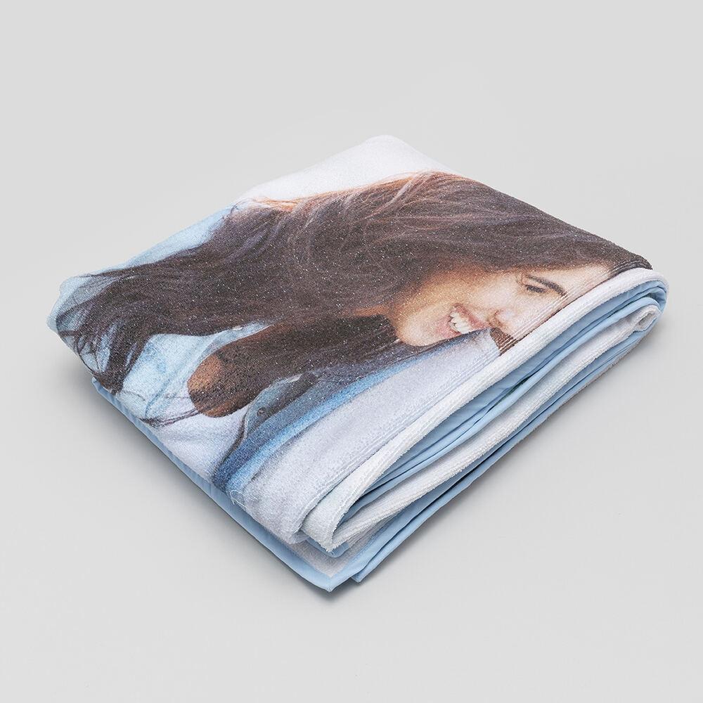 personalised bathroom towel