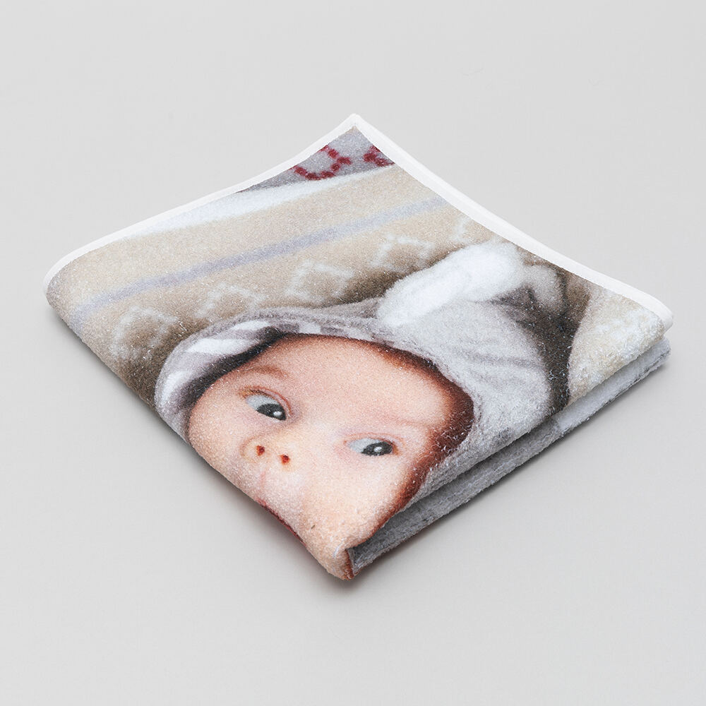 personalised baby towel