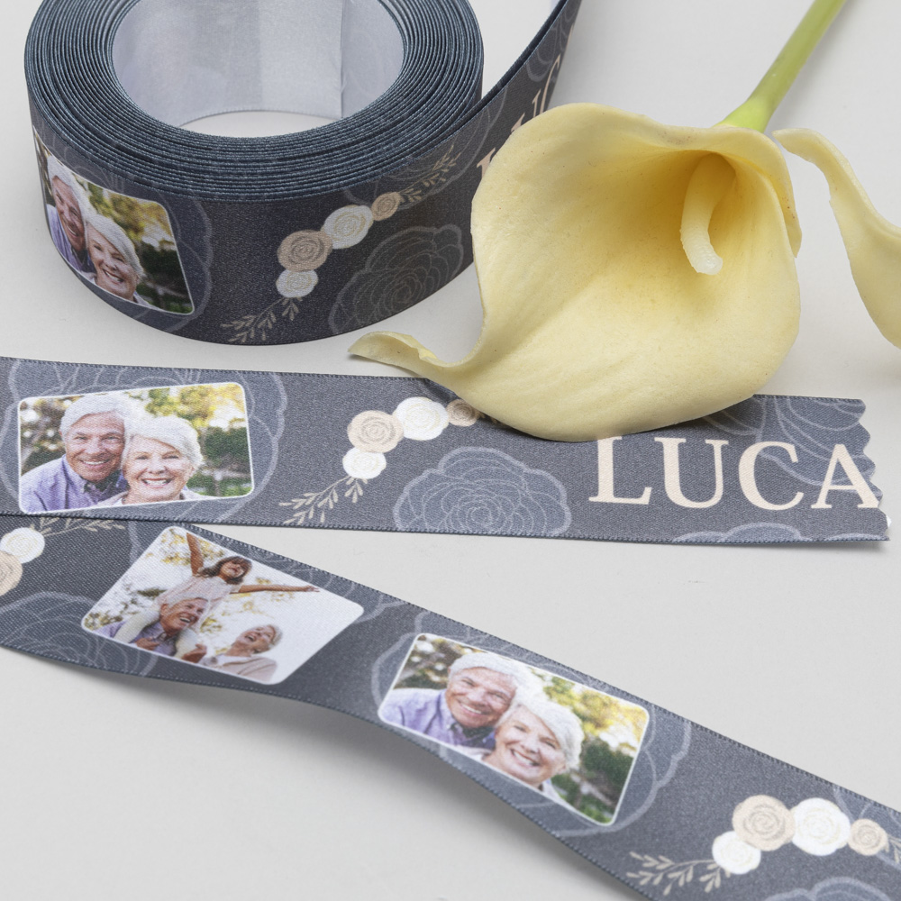 personalized funeral ribbon