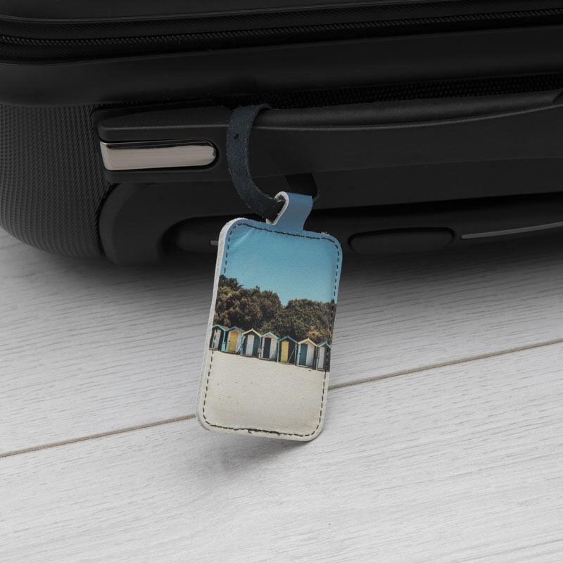 personalised photo luggage tags uk