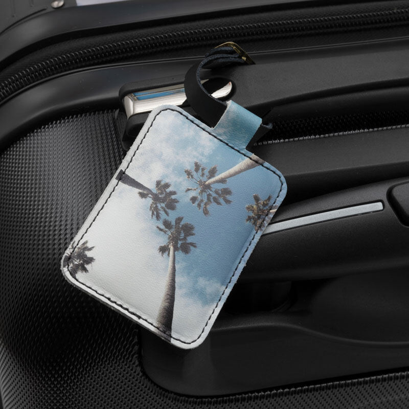 personalised luggage tags uk