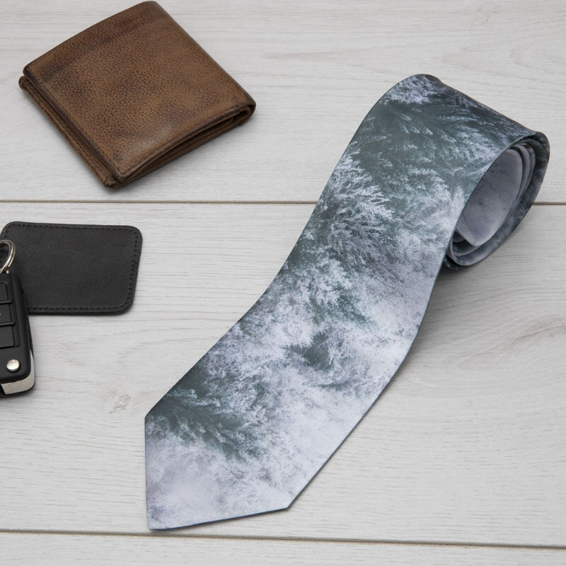 personalised photo tie