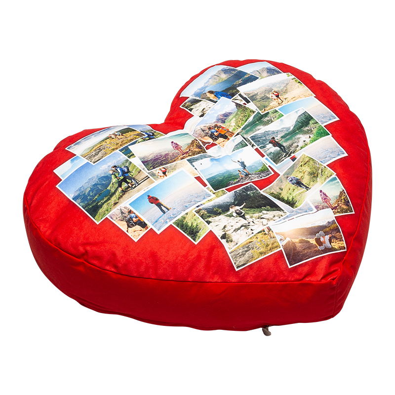 Big heart cushion