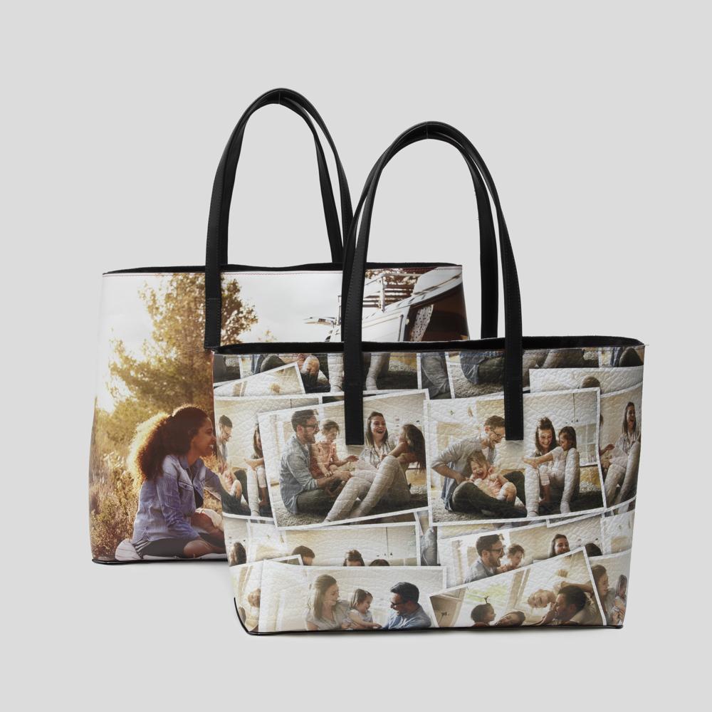 bolso de piel personalizado fotos