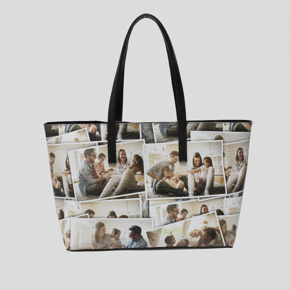 personalized leather tote bags