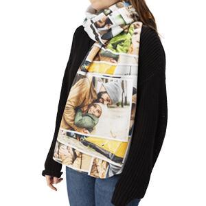 personalised blanket scarf