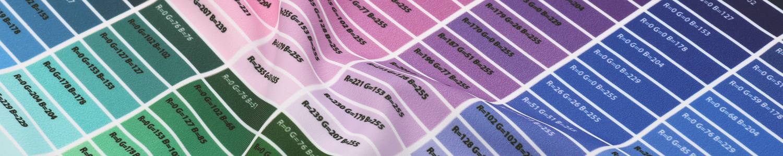Print Charts & Material Samples