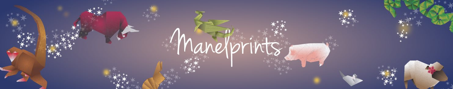 Manelprints, sustainable products for you & your home