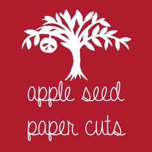 Apple Seed Paper Cuts