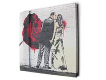 banksy canvas review