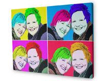 warhol pop art canvas